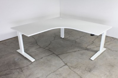 Actiforce Straight desk silver Electric