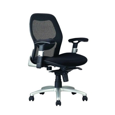Bob 201 Medium back chair Black mesh