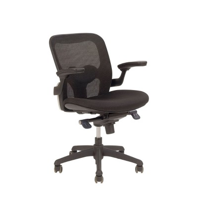 Bob 202 low back chair Black mesh