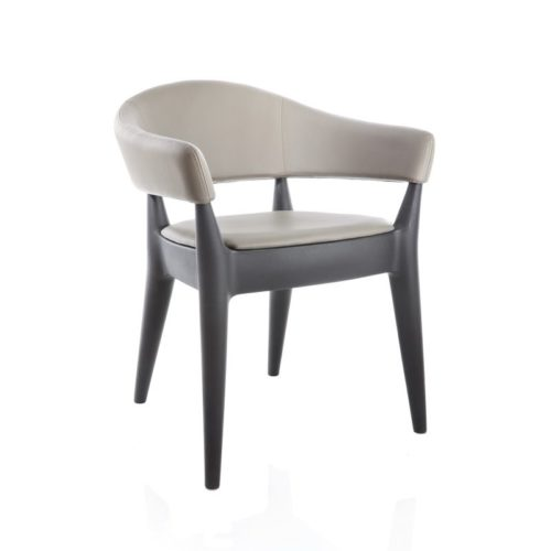 Jo seat and back cushion upholstered